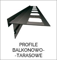 Okapniki I Profile Balkonowo Tarasowe Askot Materiały